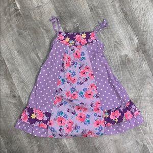 CHILDREN'S PLACE FLORAL SUMMER DRESS SIZE 4T